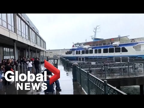 Ferry crashes into Ferry Building in San Francisco