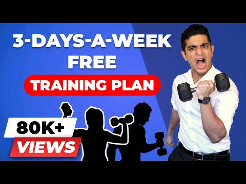 3 DAY Working Professional Gym Exercise Plan | BeerBiceps Push Pull Legs Training Split