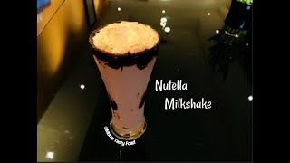 How To Make Nutella Milkshake - Best Nutella Recipes (Easy And Quick) - Moms Tasty Food