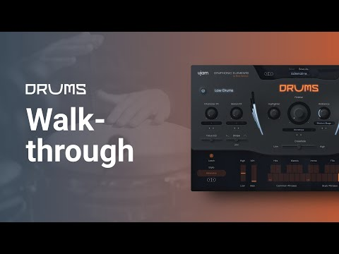 Walkthrough   Symphonic Elements DRUMS