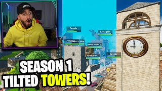 I got my Best Customs Winners to ONLY land Tilted Towers...