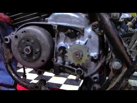 1970 Kawasaki F5 Big Horn Frame Teardown & Engine Removal - Barn Fresh EP7