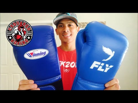 Winning MS500 VS Fly Superlace X Boxing Gloves- COMPARISON REVIEW/ HAS FLY SURPASSED WINNING?