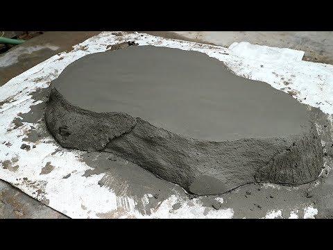 Make Cement Pot Wooden Imitation At Home | Ideas Innovation Garden Design | Project Cement craft