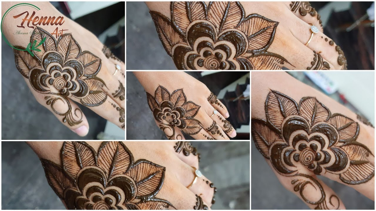 New Stylish Arabic Mehndi Designs for Hands for Beginners ...