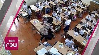 Hải Phòng: Cô giáo đánh tới tấp vào đầu học sinh | VTC Now