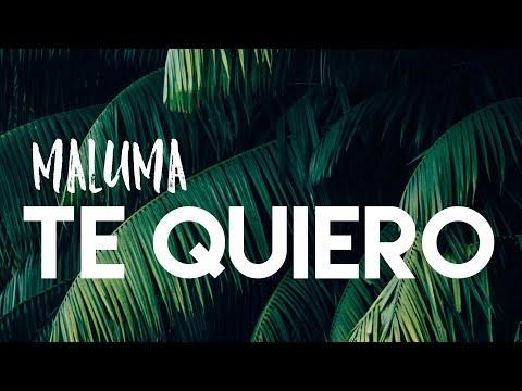 MALUMA - TE QUIERO ( LETRA/ LYRICS + ENGLISH TRANSLATION)