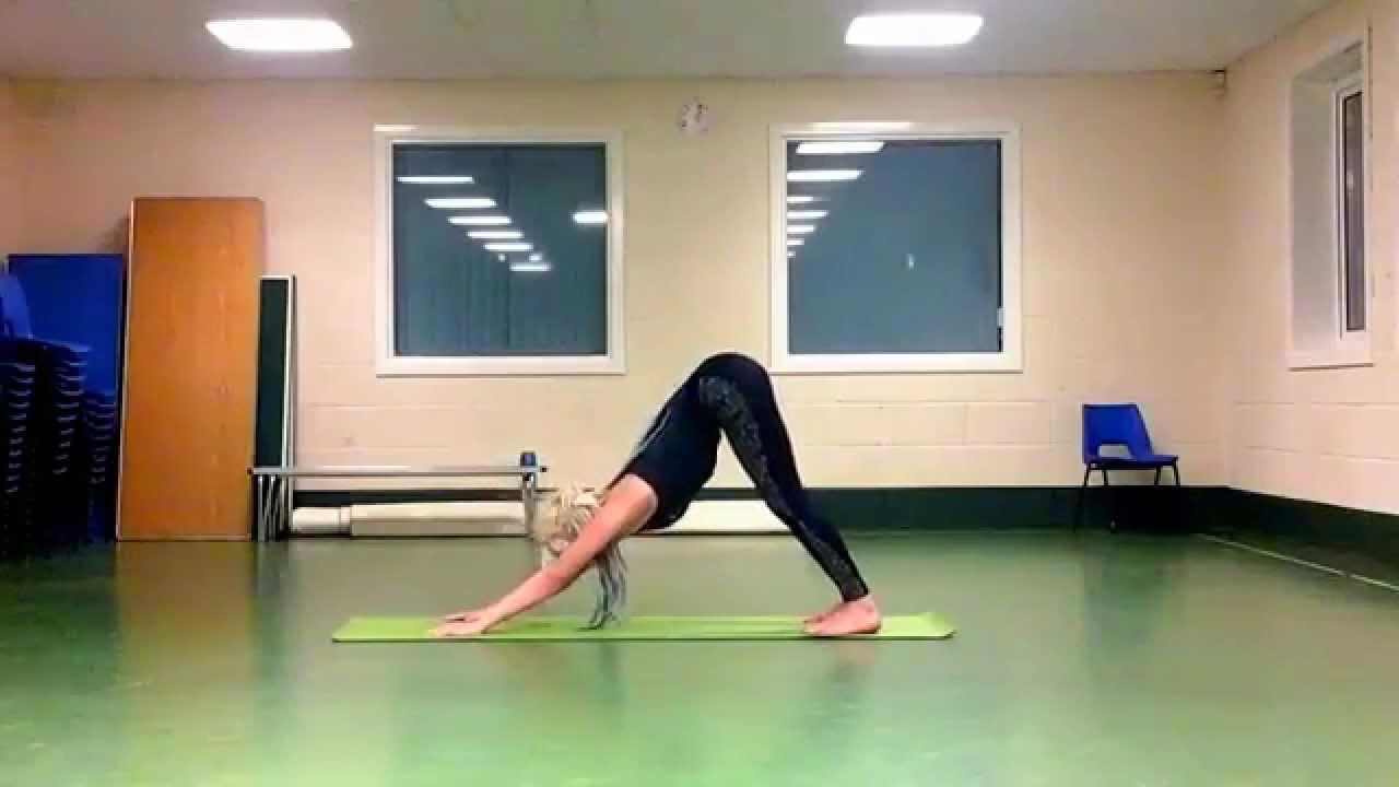 Finding Yoga freedom, Vinyasa Flow - YouTube
