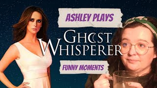 He Doesn't Believe in Ghosts Jim! Ashley Plays Ghost Whisperer! The Game - Funny Moments!