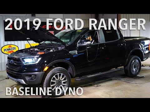 2019 Ford Ranger Baseline Chassis Dyno Testing