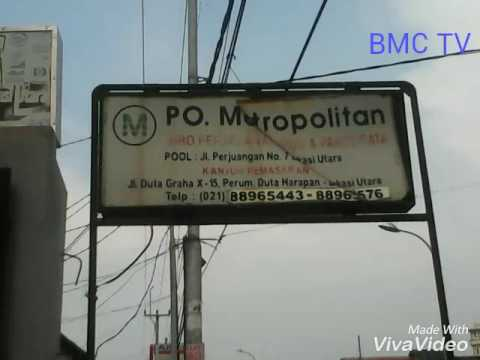 Suasana Po.metropolitan Bekasi Utara And Terminal Pulo Gebang Jakarta Timur
