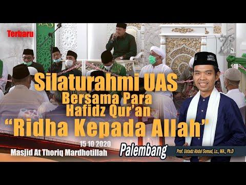 Download Ustadz Abdul Somad - 2020-10-15 Di Masjid At-Thoriq Palembang -  MP3 & MP4