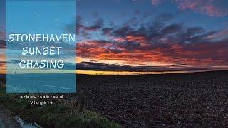 Deep Fried Mars Bars | Scottish Food Tour | Stonehaven Scotland | & Best Sunset Ever | vlog#14