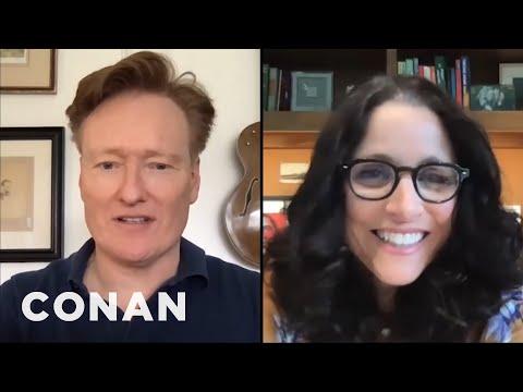 Conan Wants His Photo In Julia Louis-Dreyfus' Office - CONAN on TBS