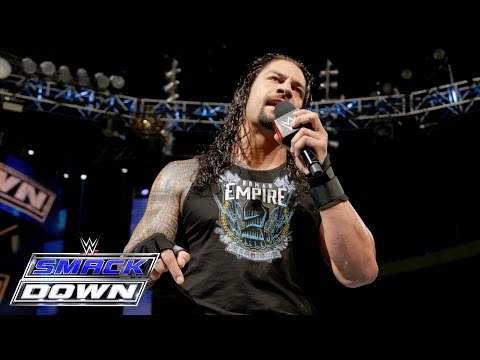 A determined Roman Reigns returns to SmackDown: SmackDown, March 17, 2016