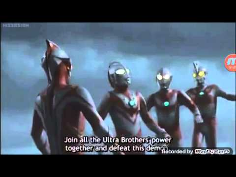 Ultraman Mebius and Ultra Brother Last Fight Part1