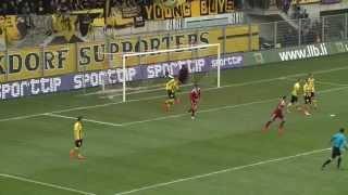FC Vaduz gegen Young  Boys 2015