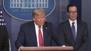 Coronavirus: Donald Trump pense déjà à la fin du confinement | AFP Extrait