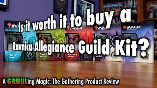 Is It Worth It To Buy A Ravnica Allegiance Guild Kit? A GRUULing Magic: The Gathering Product Review