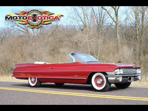 1961 Cadillac Series 62 Convertible Sold Youtube