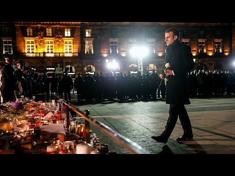 ماكرون في ستراسبورغ لتفقد موقع هجوم سوق عيد الميلاد  - نشر قبل 10 دقيقة