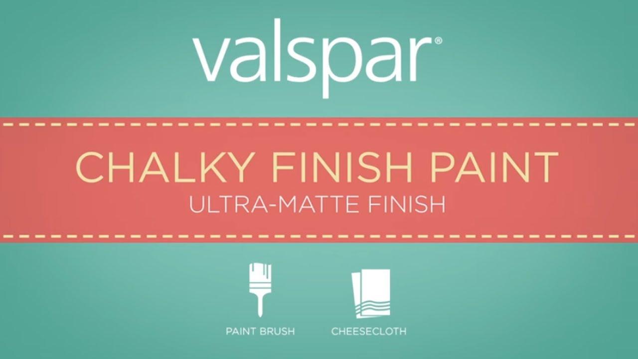 Valspar Chalky Ultramatte