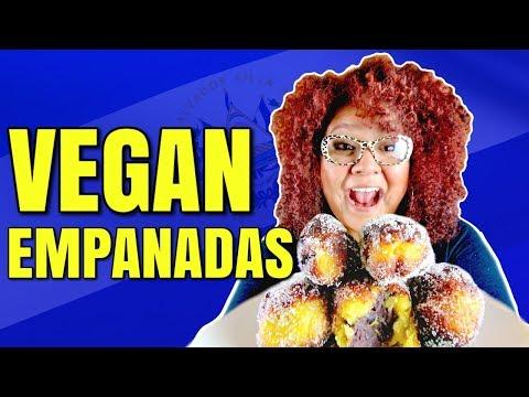 Vegan Empanadas Made with Plantains / Salvadorian Empanadas
