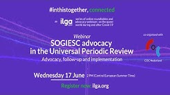webinar: SOGIESC advocacy at the Universal Periodic Review