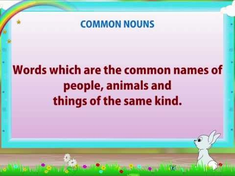 Learn Grade 2 - English Grammar - Nouns