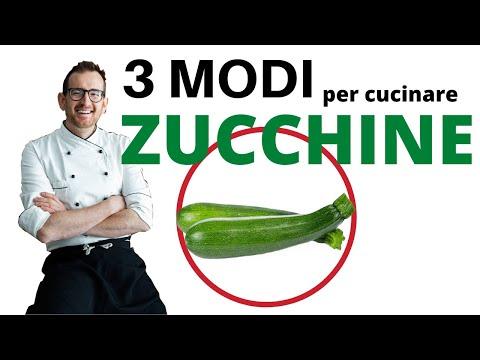 3 Modi per Cucinare le Zucchine (ricetta vegan)