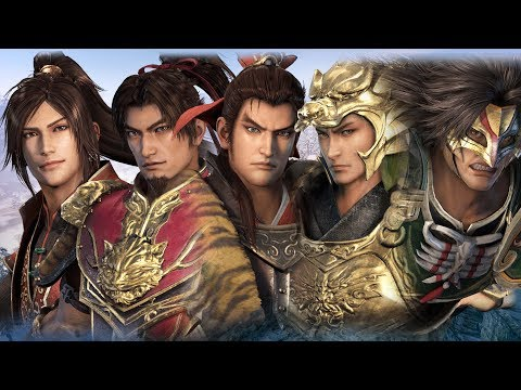 Dynasty Warriors 9 - All Male Voice Gallery (Part 6)