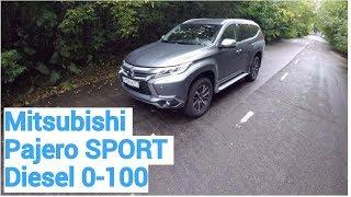 Mitsubishi Pajero Sport - разгон от 0 до 100 км/ч