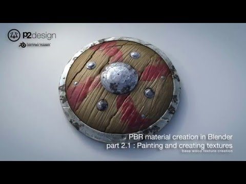 PBR MATERIAL CREATION IN BLENDER PART02 01 BASE WOOD TEXTURE CREATION