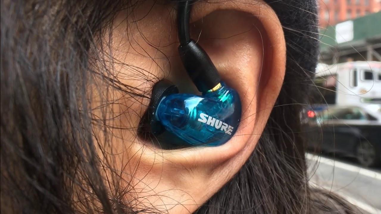 02ea72c169d Shure SE215 Wireless in-ear headphones review- Digital Trends - YouTube