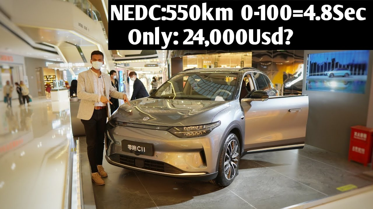 Download Introducing 2021 the cheapest Chinese Electric SUV Leapmotor C11