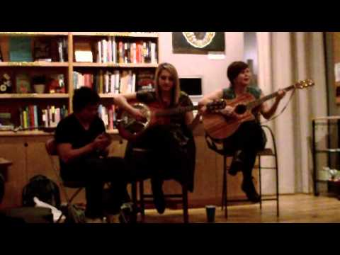 Zebra Mirrors (Live Full Acoustic Set) @ Seattle Revolution Bookstore.