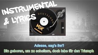 Kool Savas - Triumph feat. Sido, Azad & Adesse INSTRUMENTAL + LYRICS (KARAOKE BEAT REMAKE)