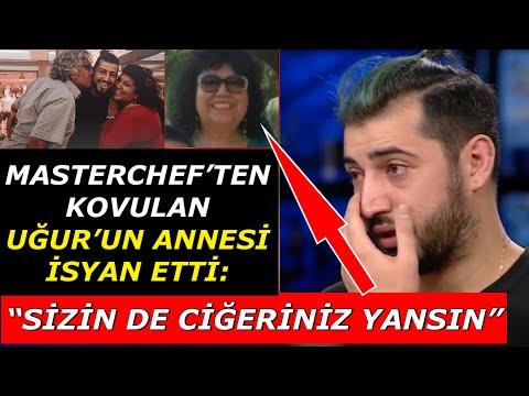 """Masterchef'ten Kovulan Uğur'un Annesi İsyan Etti: """"SİZİN DE CİĞERİNİZ YANSIN!"""""""