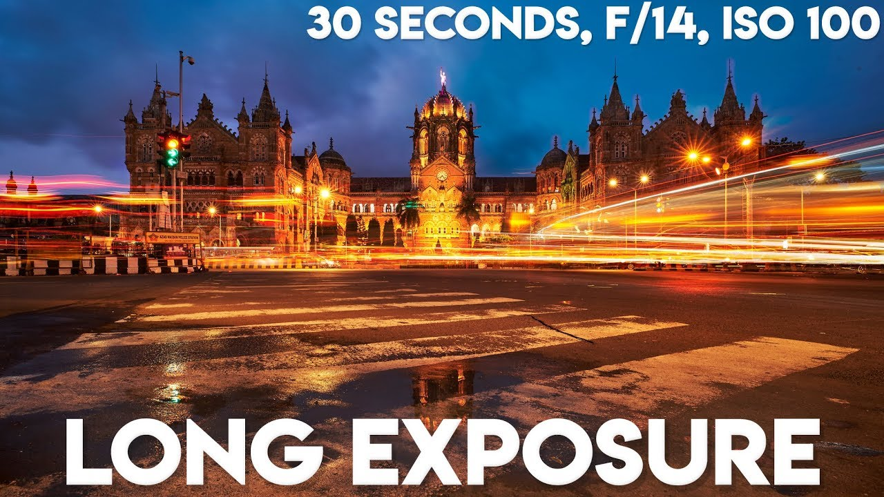 Long Exposure Photography Tutorial! - YouTube