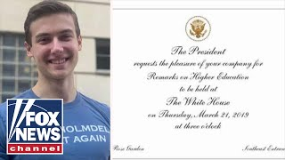 Conservative teen invited to White House after Honor Society rejection