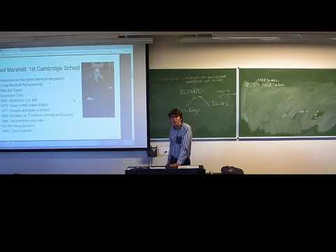 History of Economic Thought: Marginalism Lecture 3