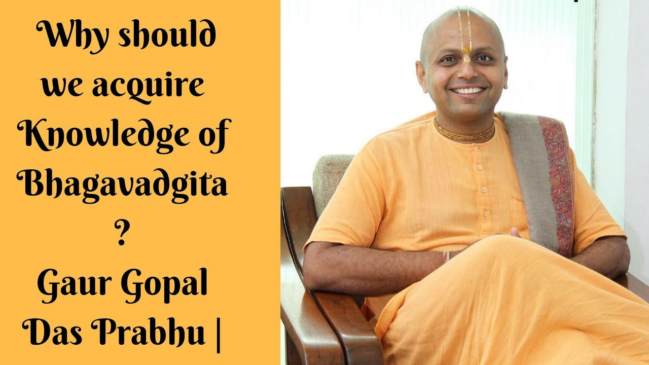 gaur gopal das speech in hindi