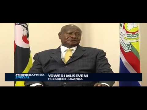 Uganda's president on high interest rates, the economy & entrepreneurship