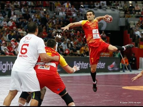 Macedonia vs Austria - Men's Handball Championship 2015 - Group B (23/01/2015)