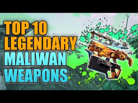 Borderlands 3 | Top 10 Legendary Maliwan Weapons - Best Guns Made by Maliwan |