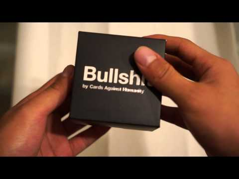 Cards Against Humanity Bullshit Unboxing