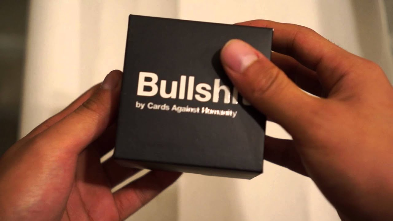 Cards against humanity bullshit unboxing youtube reheart Gallery