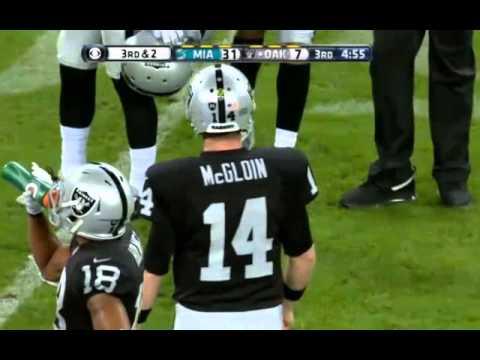 Oakland Raiders v Miami Dolphins - London - Highlights