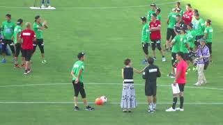 2017年の松本山雅FC ファン感謝デーの最後のイベント、PK対決の模様です...