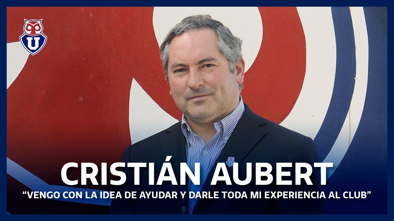 """Cristián Aubert, nuevo Presidente: """"Vengo con la idea de ayudar y darle  toda mi experiencia al Club"""" - YouTube"""
